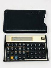 Vintage 1980s 12C Hewlett Packard Financial Calculator Pristine Condition