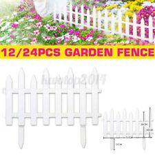 Heritage Garden Picket Fence Borders Edging Gardening Lawn Fencing Flower Beds
