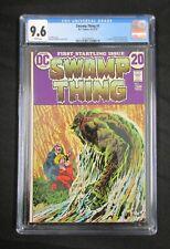 SWAMP THING 1 * CGC 9.6 * ORIGIN OF SWAMP THING * BRONZE AGE KEY * BEAUTIFUL!