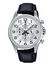 Casio Edifice Chronograph Leather Strap Men's Watch EFB-508JL-7A