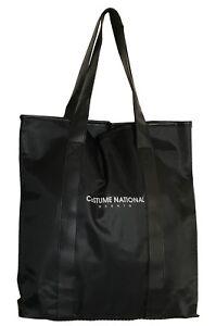 Costume National Black Polyester Women Bag Large