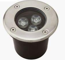 Faretto LED Segnapasso Segnapassi Calpestabile Esterno IP68 3W Luce Bianca hsb