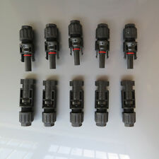 5Pairs x MC4 Connector male and female, MC4 Solar Panel Connector 30A 1000V
