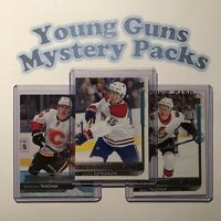 $12 YOUNG GUNS MYSTERY PACKS | 8 Hockey Cards | Rookies | Great Value -Read Des!