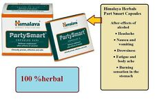 5 Party Smart Pills  HIMALAYA HERBALS AYURVEDIC PILLS CAPSULES HANGOVER