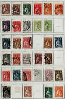 Portugal 1910/31 strong collection starts with Republica overprints, then Stamps
