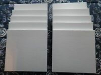 """Tape Reel boxes for 10 1/2"""" X 1/4"""" reels with NAB center hubs! Lot of 10 boxes!!"""