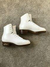 Sp Teri Ice Skate Boots Women's Size 5 C Ball B Heel