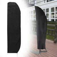 Sonnenschirmhülle Abdeckung Schutzhülle für Ampelschirm Abdeckhaube Garten