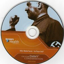 HITLER MEDICAL SECRETS DVD - Rare Discovery Channel Documentary