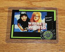 Rare & Collectible 1993 TEAM BLOCKBUSTER #43 Wayne's World Game Card - Near Mint