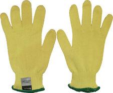 Shurrite Yellow Heavyweight Cut Resistant Kevlar Lightweight Knit Gloves