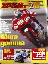 Motosprint 10 2004 Test Suzuki GSX-R 750 - Honda RCV