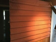 """GORGEOUS BUDGET BLIND NEW ROMAN SHADE RED CHECK,64"""" X 48"""" ORG $550"""