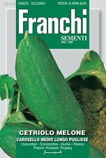 Franchi Seeds of Italy - Cucumber Melon - Carosello Medio Lungo Pugliese - Seeds