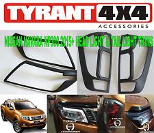 Surround Trim Covers Headlight Tail Light to suit Nissan Navara NP300 D23 2020