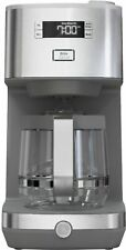 GE - Classic Drip 12-Cup Coffee Maker - Stainless Steel