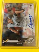 🔥🔥2020 Topps Chrome ANDRES MUNOZ Auto Autograph ROOKIE #RA-AMU Padres