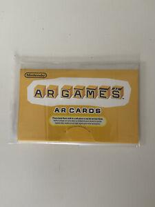 Nintendo 3DS AR Cards Sealed Pack (Unopened)