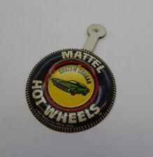 Redline Hotwheels Button Badge Metal Hong Kong Custom Cougar R17247