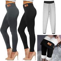 Super Thick Cashmere Wool Leggings Pants High Waist Women Winter Warm Pants Hot