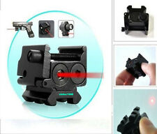 Detachable Picatinny Rail Red Laser Sight For Crossbow Gun Pistol Glock Rifle *
