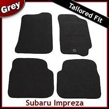 Subaru Impreza Tailored Fitted Carpet Car Mats GREY (1993...1997 1998 1999 2000)