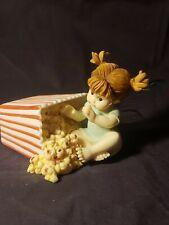 Enesco Fairy Figurine My Little Kitchen Fairies Sneaky Popcorn Fairie 112912