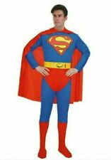 Mens Adults Superhero Superman Costume