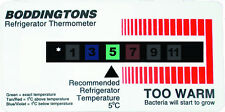 Fridge Thermometer Card 0-12°C B05/RF1