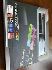 G.SKILL 16GB (2 x 8GB) DDR4 3200 (PC4 25600) Memory (F4-3200C16D-16GTZR)