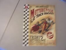 September 2 2011 Davenport ,Iowa Motorcycle Race Program,Knoxville On Back ?
