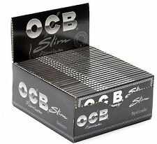 OCB King size PREMIUM Slim Rolling Papers 50 Booklets