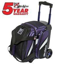 KR Strikeforce Cruiser Purple/White/Black 1 Ball Roller Bowling Bag