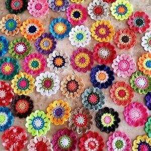 handmande crochet flowers