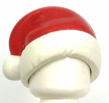 LEGO NEW MINIFIGURE HAT RED SANTA CLAUS  CAP XMAS CHRISTMAS PART