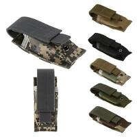 Molle Clip Single Magazine Pouch Open Top Pistol Cartridge Clip Pouch
