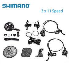 Shimno DEORE XT M8000 3x11 33-SPEED GRUPPO Mountain bike group Set Nero 2017