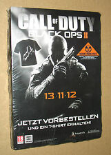 Call of Duty Black OPS II rare promo T-Shirt size L PlayStation 3 Xbox 360 Wii U