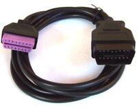 Verlängerung 2 Meter Kabel OBD OBD2 Diagnose Interface