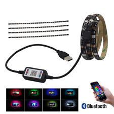 USB LED Strip Bluetooth 5V RGB 5050 Flexible Ribbon Ambilight TV Light Backlight