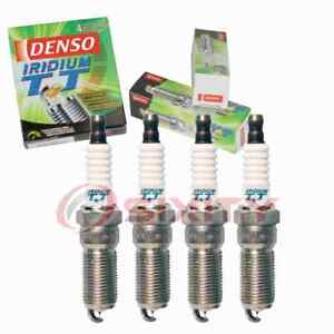 4 pc Denso Iridium TT Spark Plugs for 2003-2007 Saturn Ion 2.2L 2.4L L4 du