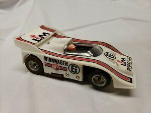 Vintage AJ's Winnwagen Chassis Porsche  1:32 Scale Slot Car
