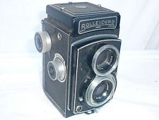 Vintage Rolleicord type III camera C 1952-1953. 120 film TLR camera. .