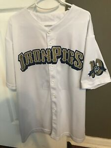 LEHIGH VALLEY IRONPIGS PHILLIES SGA WHITE #17 JERSEY, SIZE Adult XL New!
