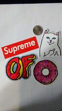 ODD FUTURE, OFWGKTA LOGO, SUPREME,  decal sticker skateboard 4 pack