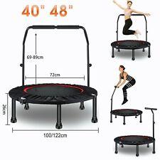 "Mini Trampoline 40"" 48"" Fitness Rebounder Exercise Gym Indoor Jumper 40 48 Inch"