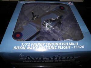 AVIATION72  model 1/72 Fairey Swordfish Mk.ll LS326 Royal Navy Historic Flight