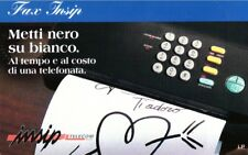 *G 585 C&C 2646 SCHEDA TELEFONICA NUOVA MAGNETIZZATA FAX INSIP