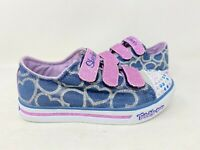 NEW! Skechers Youth Girls Twinkle Toes Glitter Heart Shoes 10709L 156N kk
